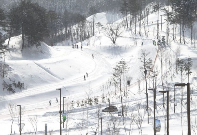 Зимняя Олимпиада 2018 года в Пхёнчхане