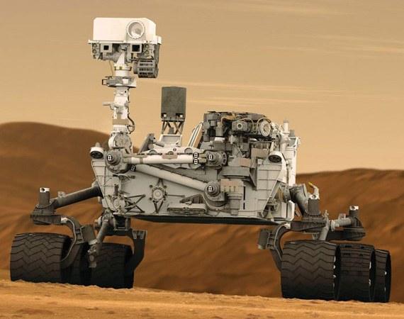 Где посмотреть снимки с марсохода Curiosity Mars Rover