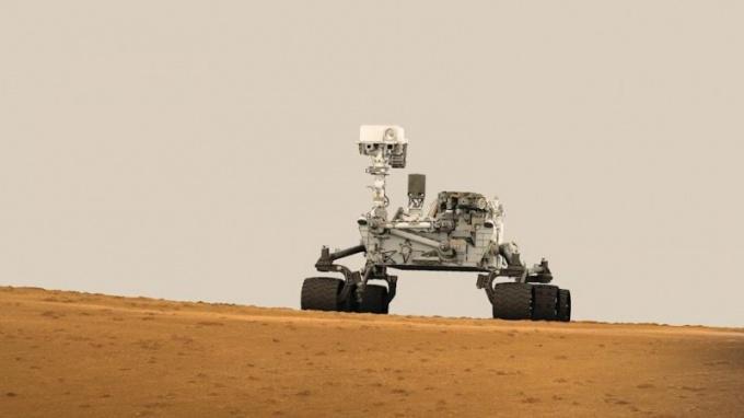 Как прошла посадка марсохода Curiosity Mars Rover