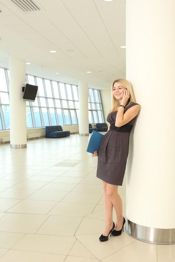 Как сшить офисное платье