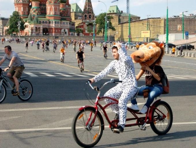 Как попасть на велопарад в Москве