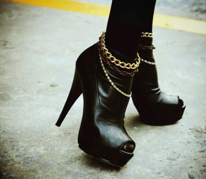 Как носить женскую обувь на каблуках