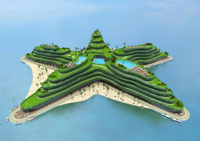 Где появится новый рукотворный архипелаг