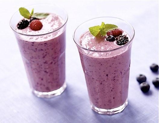 Как приготовить фруктовый коктейль с отрубями
