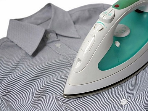 Как погладить рубашку быстро