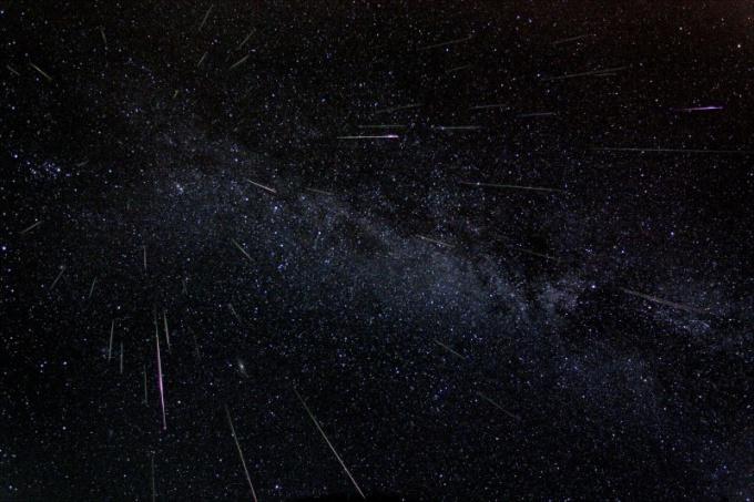 Где и когда можно наблюдать звездопад