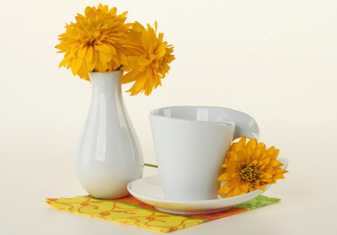 Как разукрасить фарфоровую посуду