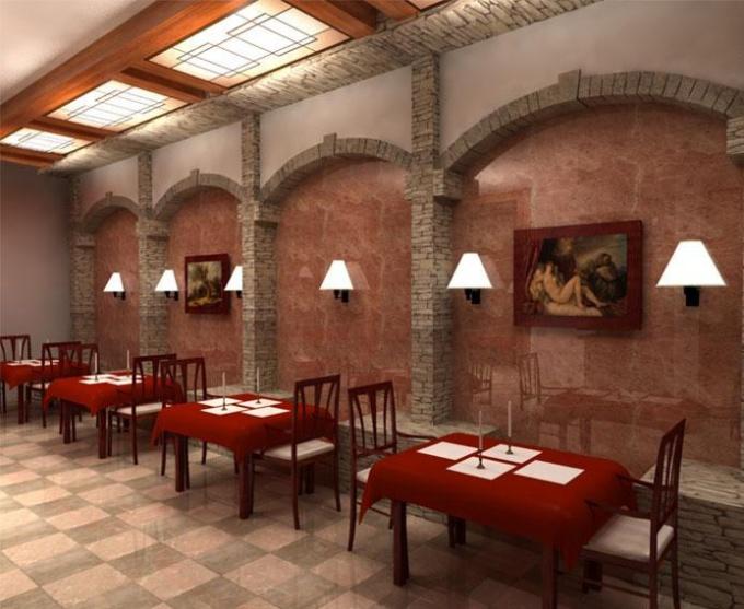 Как оригинально оформить интерьер ресторана