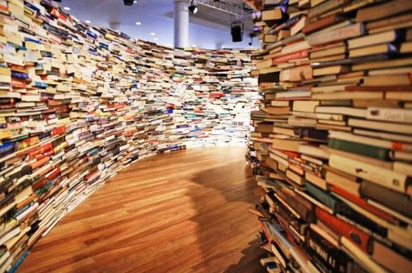 Как попасть в книжный лабиринт в лондонском Southbank Centre