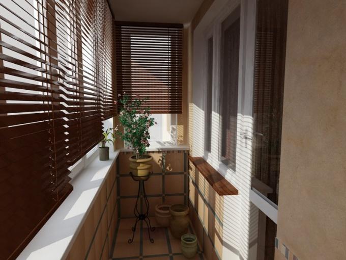 Как выполнить ремонт балкона