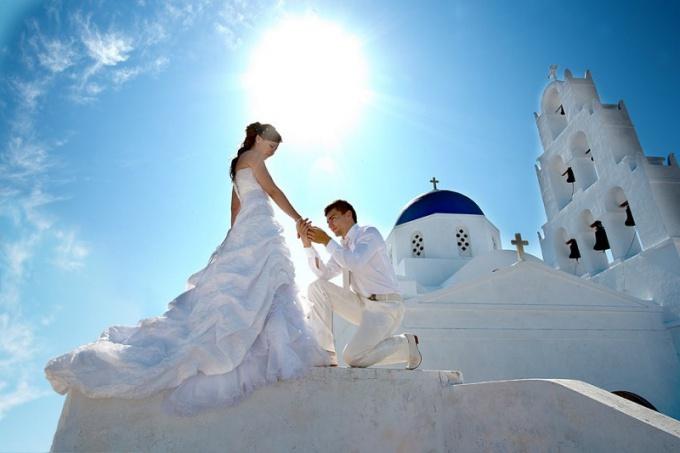 Как проходит свадьба в Греции
