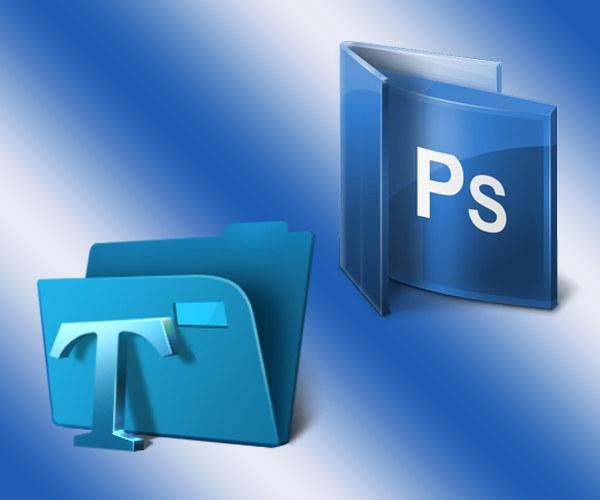 Как сделать изменения в наборе шрифтов Фотошопа