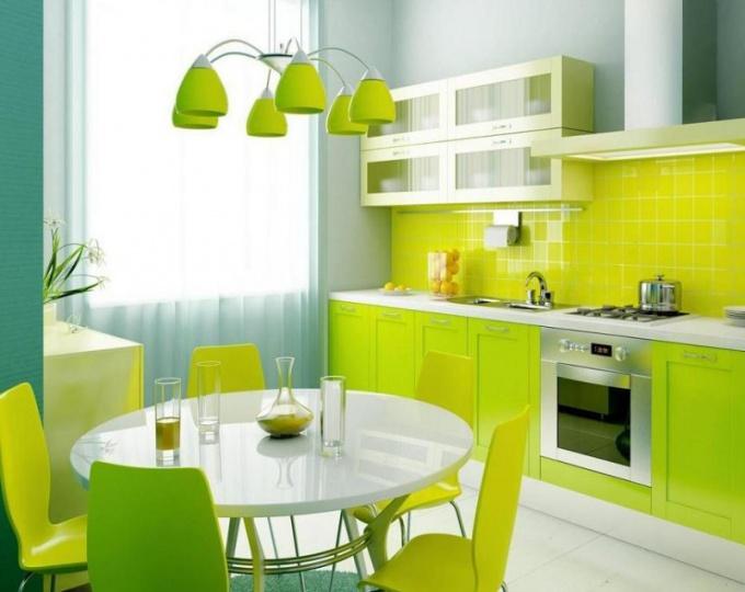 Как оформить кухню по фен-шуй