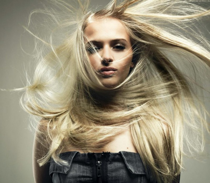 How to care for blond hair