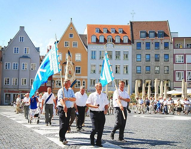 Как отмечают День мира в Аугсбурге