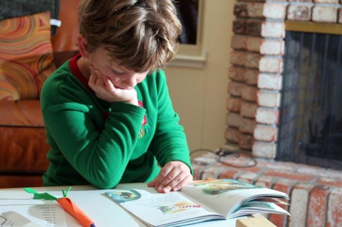 Как приучить школьника читать летом