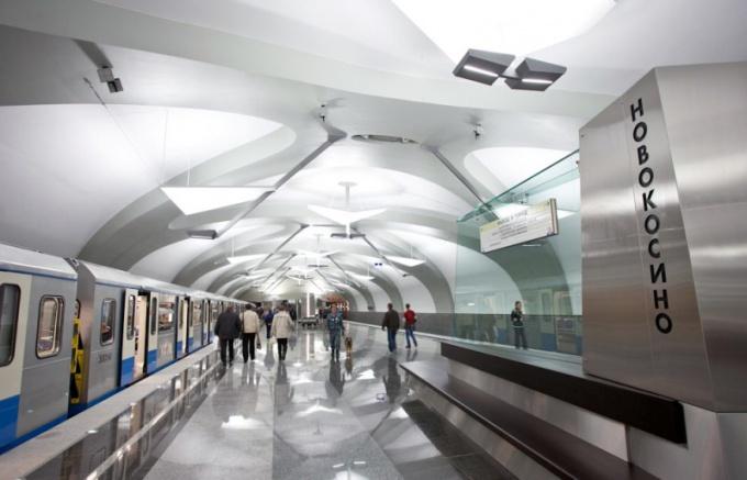 Как выглядит новая станция метро Новокосино