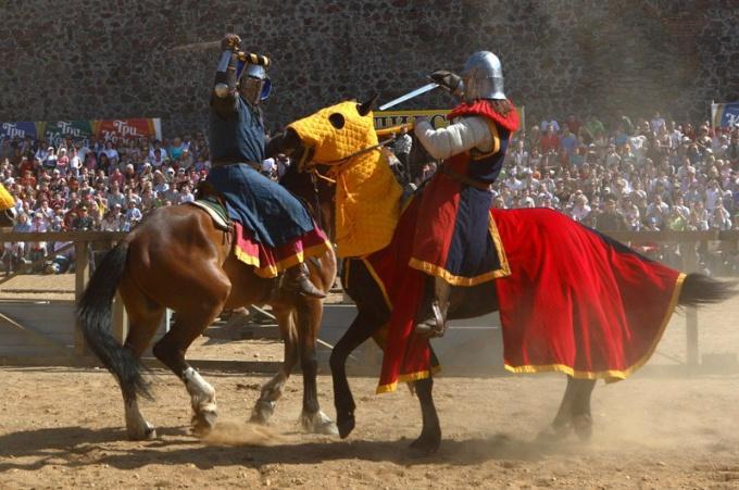 Как поучаствовать в рыцарском турнире