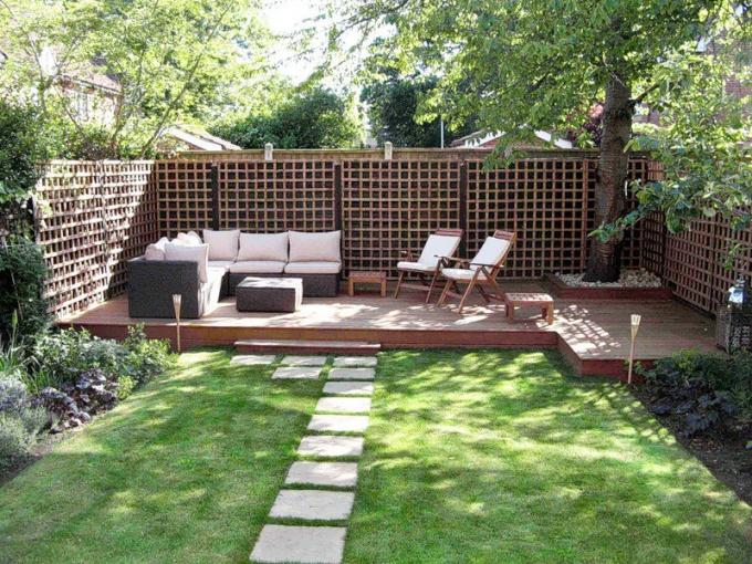 Как создать дизайн двора на даче