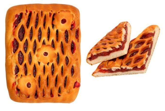 Как приготовить вкусный пирог с брусникой