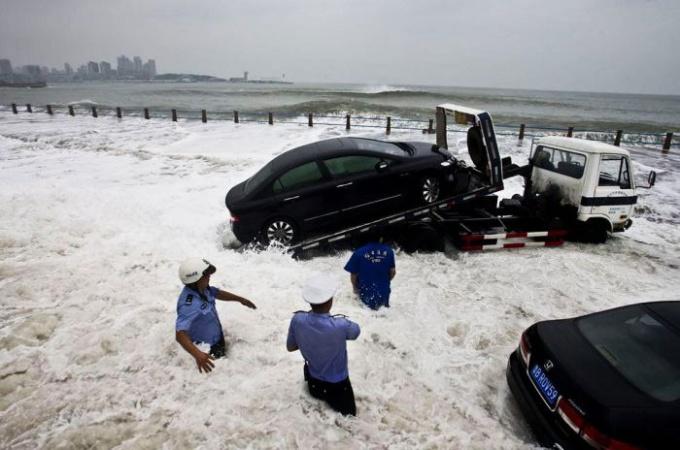 "Какой вред нанес тайфун ""Болавен"""
