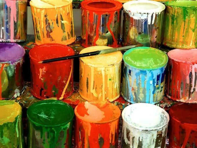 Как использовать резиновую краску