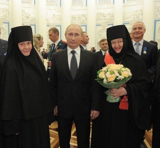 Как прошло вручение гос. наград в Кремле