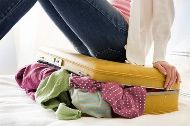 How to pack in a suitcase