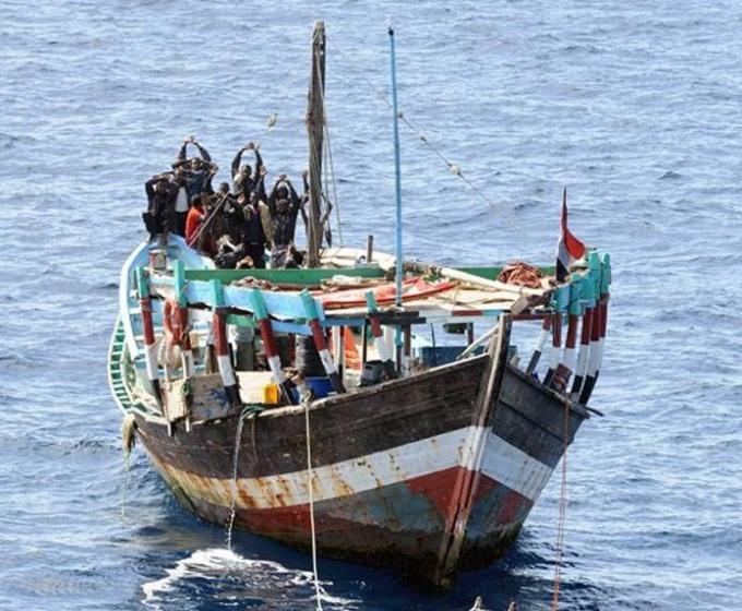 Как борятся с морскими пиратами
