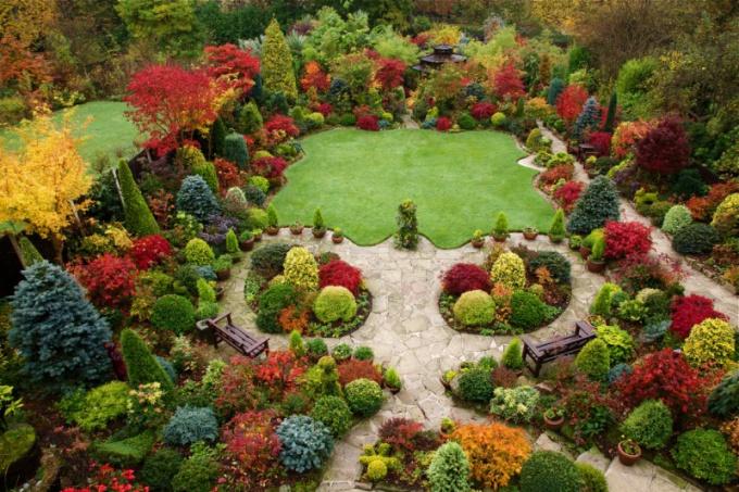 Как перекопать сад осенью