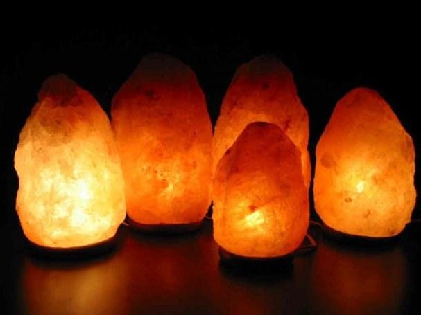 В чем секрет солевой лампы