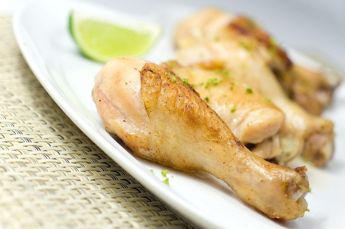 How to prepare tasty chicken for just half an hour