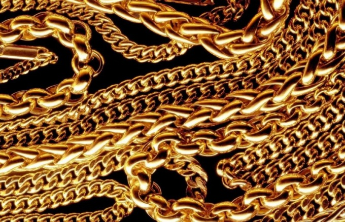 What are the types of weaving gold chains