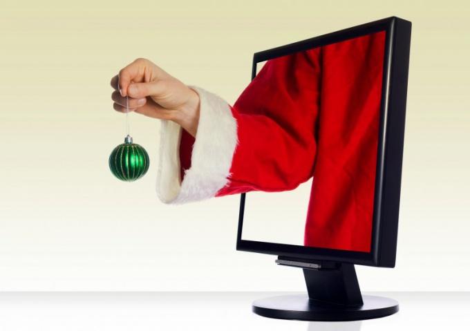 Как обычный компьютер превратить в новогодний