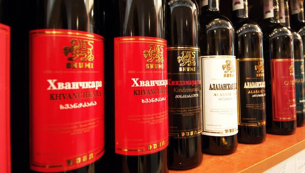 Где в Москве дозволено приобрести грузинское вино