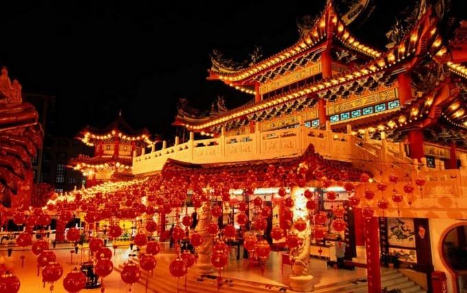 Как празднуют Новый год в Китае