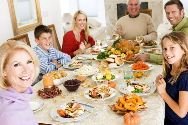 Holiday table for the diabetic