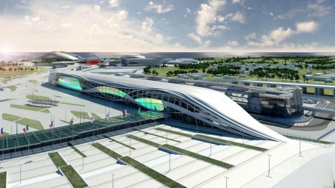 Какие объекты построили в Сочи к Олимпиаде