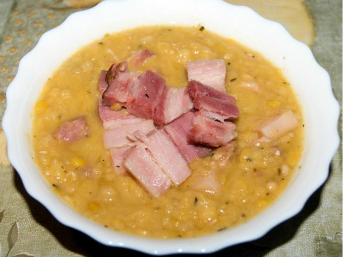 Как приготовить суп с копченостями