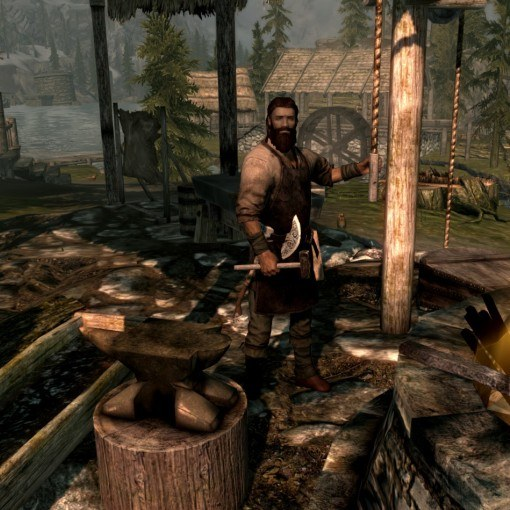 How to upgrade skills in Skyrim