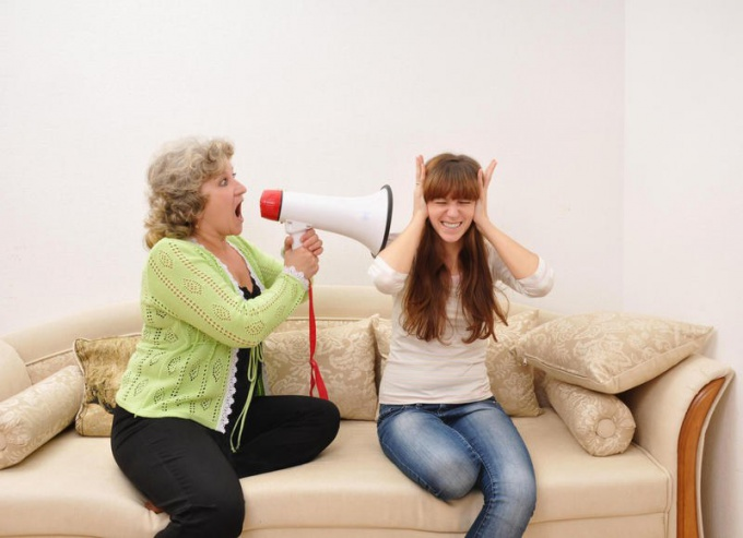 What to do if mother-in-law got?