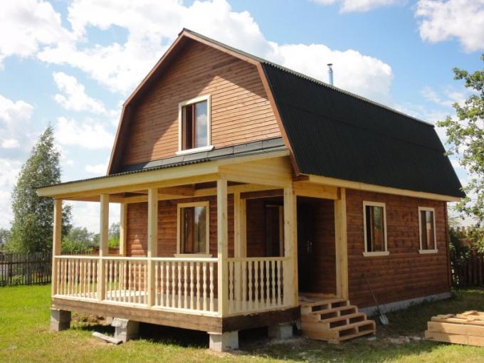 Дома из профилированного бруса - преимущества и недостатки