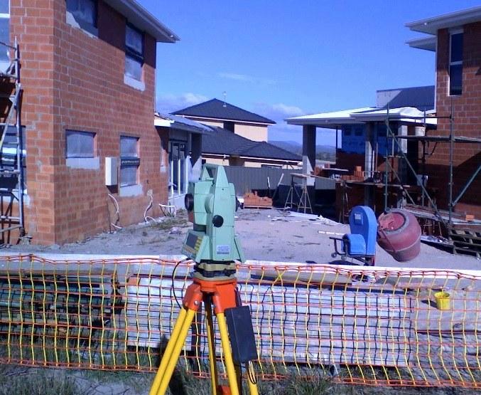 Проведение геодезических работ перед началом строительства