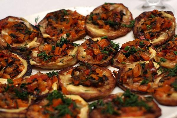 Баклажаны по-гречески - вкусная овощная закуска