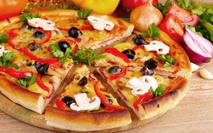 Постная пицца: рецепт приготовления