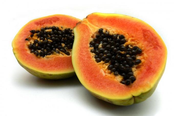 Плоды папайи
