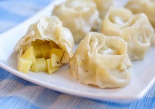 Рецепт мантов с картофелем