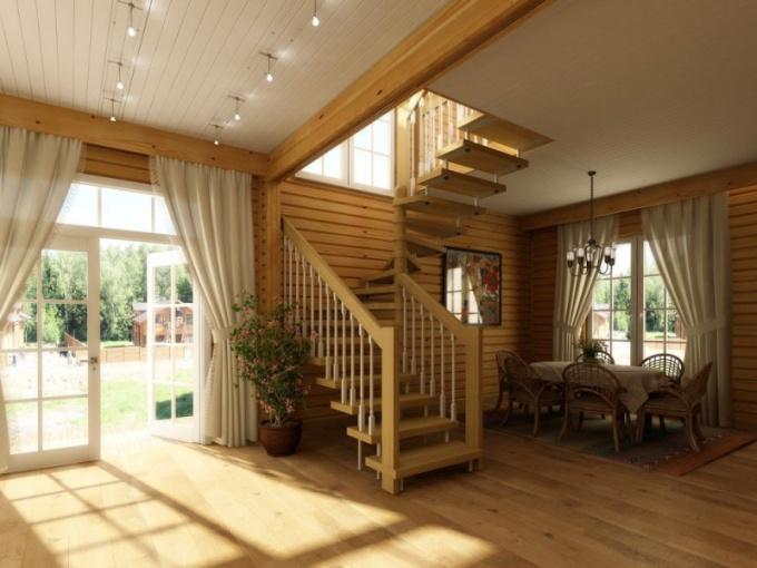 Лестницы на дачу: виды, материалы