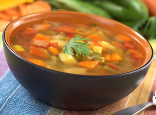 5 рецептов овощных супов для похудения
