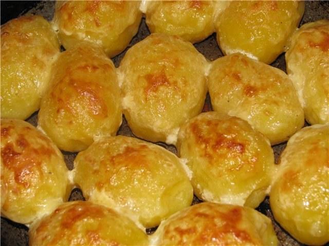 Запечь картошку в мультиварке целиком рецепт